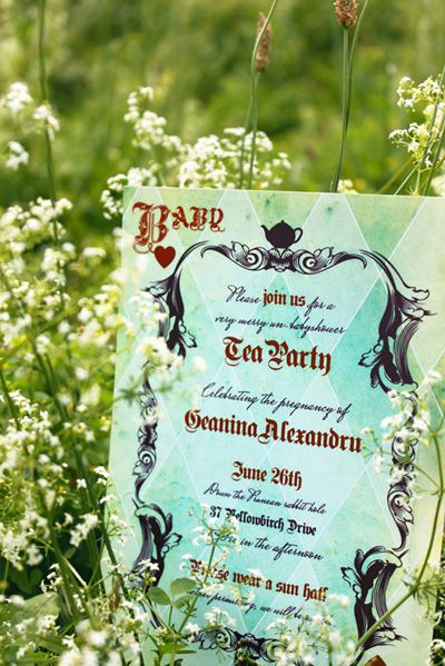 Alice In Wonderland Invitation Wording New Alice In Wonderland Party Invitation Inspiration
