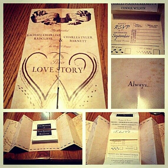 Already Married Wedding Invitation Wording Beautiful Harry Potter Wedding Invitations I M Kind Of Sad that I
