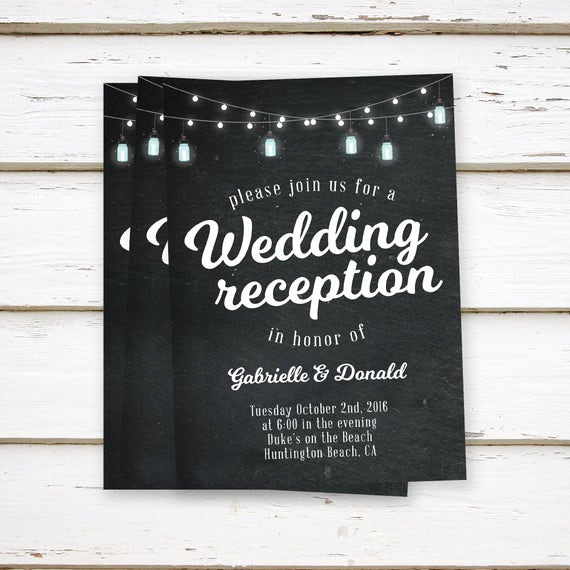 Already Married Wedding Invitation Wording Best Of Printed Elopement Reception Invitations Elopement