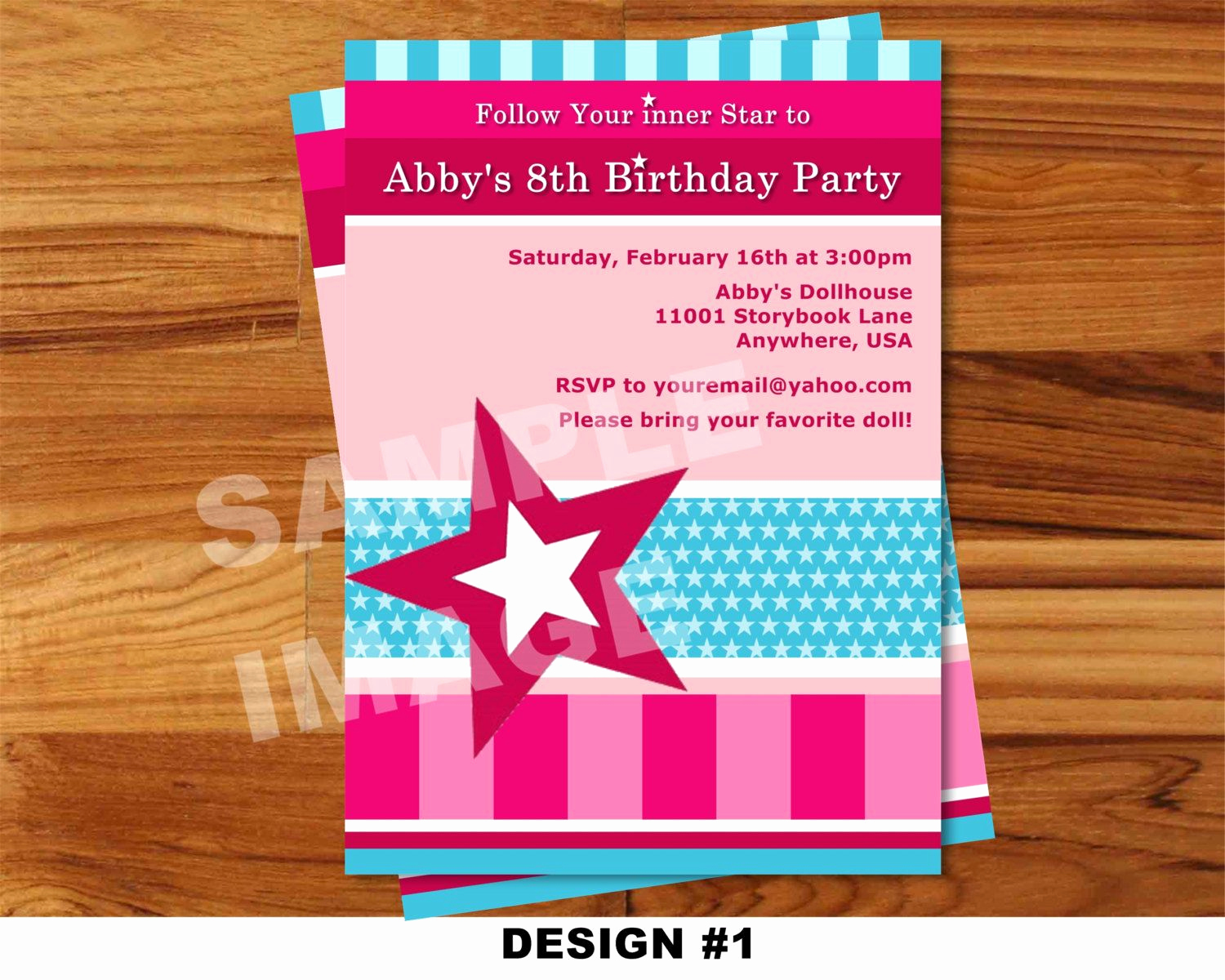 American Girl Birthday Invitation Unique American Girl Birthday Invitations Free Printable