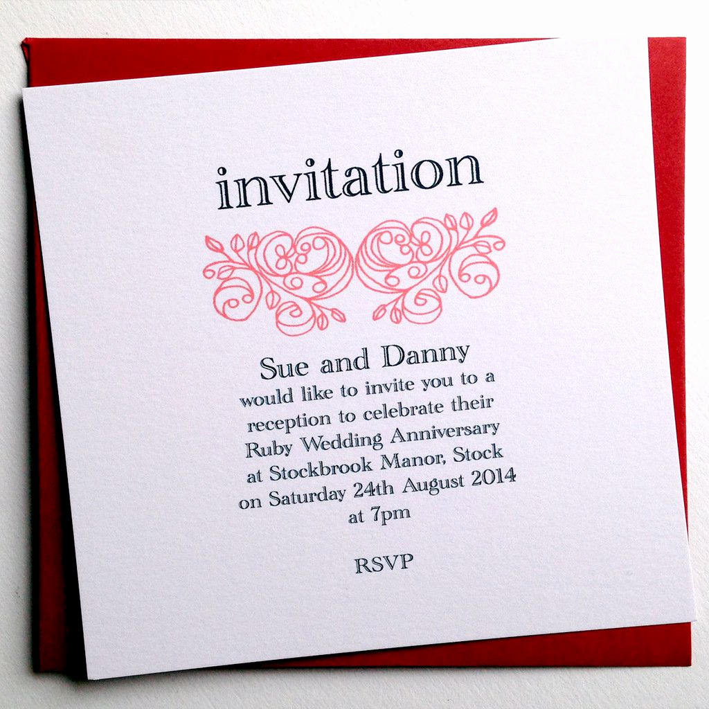 Anniversary Party Invitation Wording Best Of Anniversary Invitations Personalized Anniversary