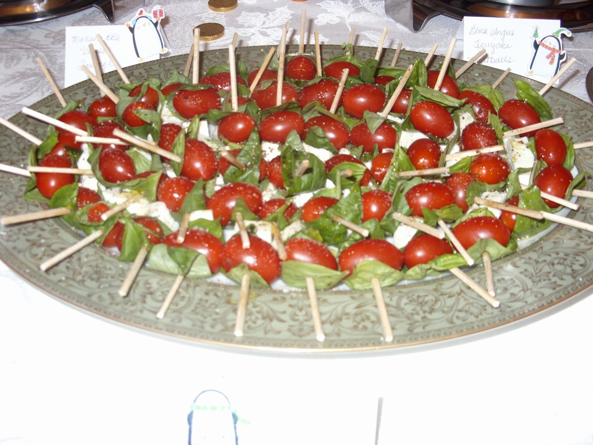 Appetizer Party Invitation Wording Lovely Insalata Caprese Kebabs
