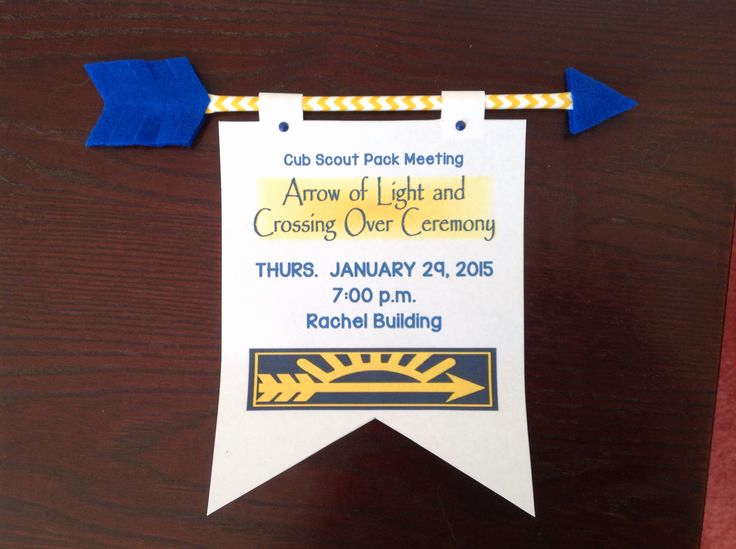 Arrow Of Light Invitation Awesome 1000 Images About Cub Scouts Arrow Of Light On