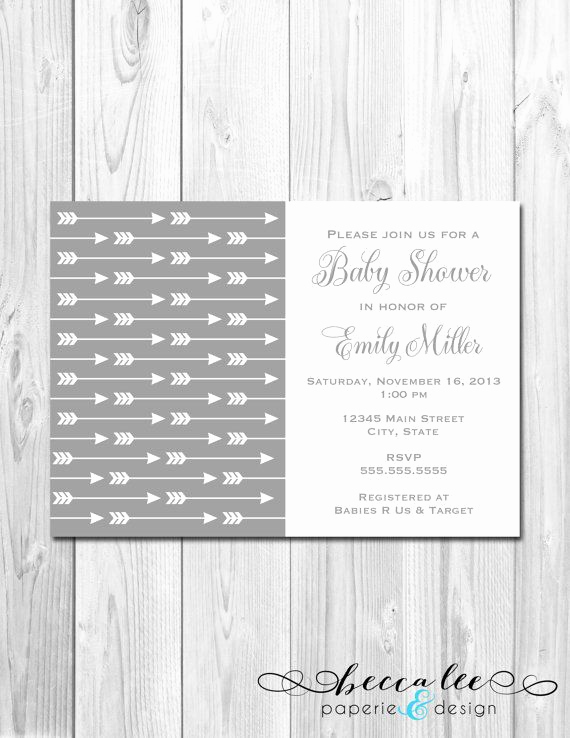 Arrow Of Light Invitation Awesome 25 Best Arrow Baby Shower Ideas On Pinterest