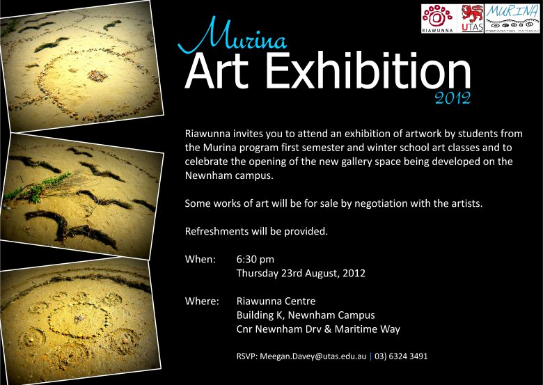 Art Show Invitation Template Fresh Murina Art Exhibition 2012 events