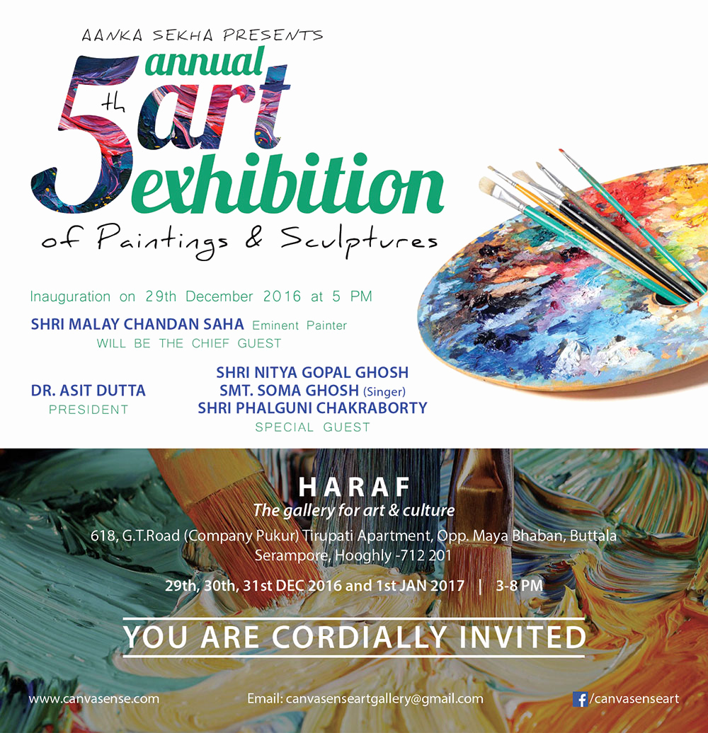 Art Show Invitation Wording Awesome 5th Annual Exhibition Of Paintings & Sculptures