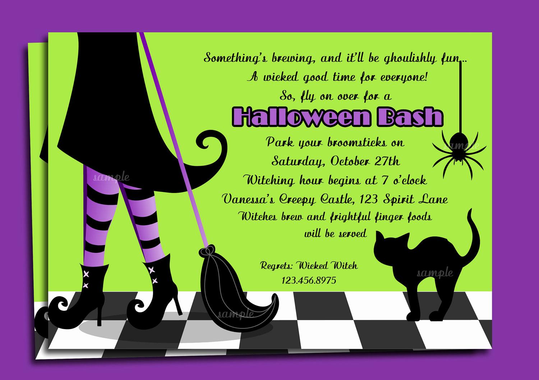 Art Show Invitation Wording Beautiful Halloween Invitation Wording byob – Festival Collections