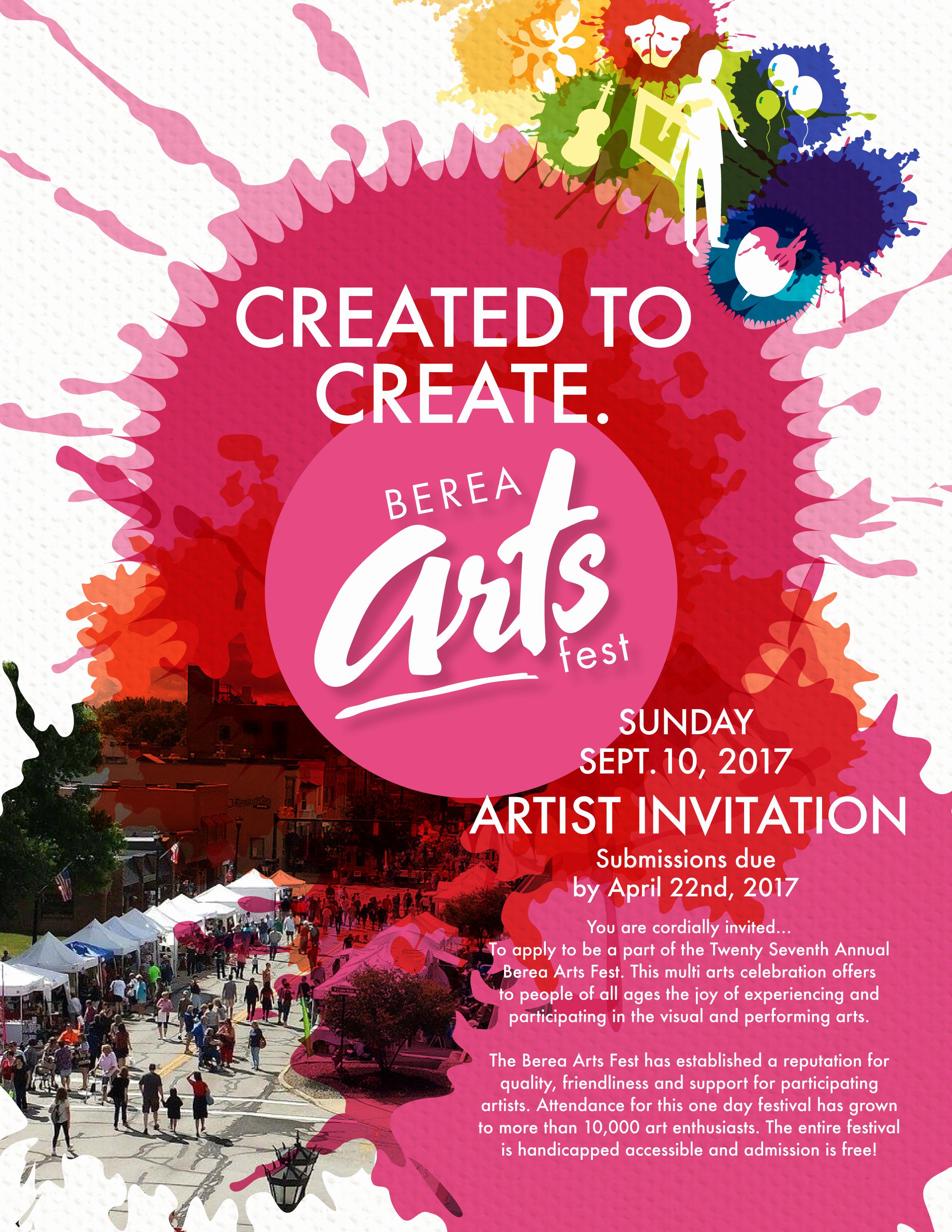 Art Show Invitation Wording Luxury General Info Berea Arts Fest
