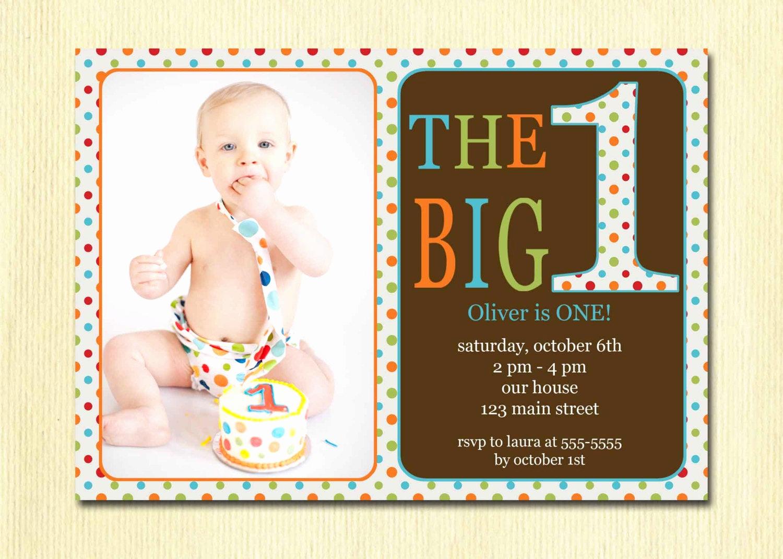 Baby 1st Birthday Invitation Elegant First Birthday Baby Boy Invitation Diy Printable