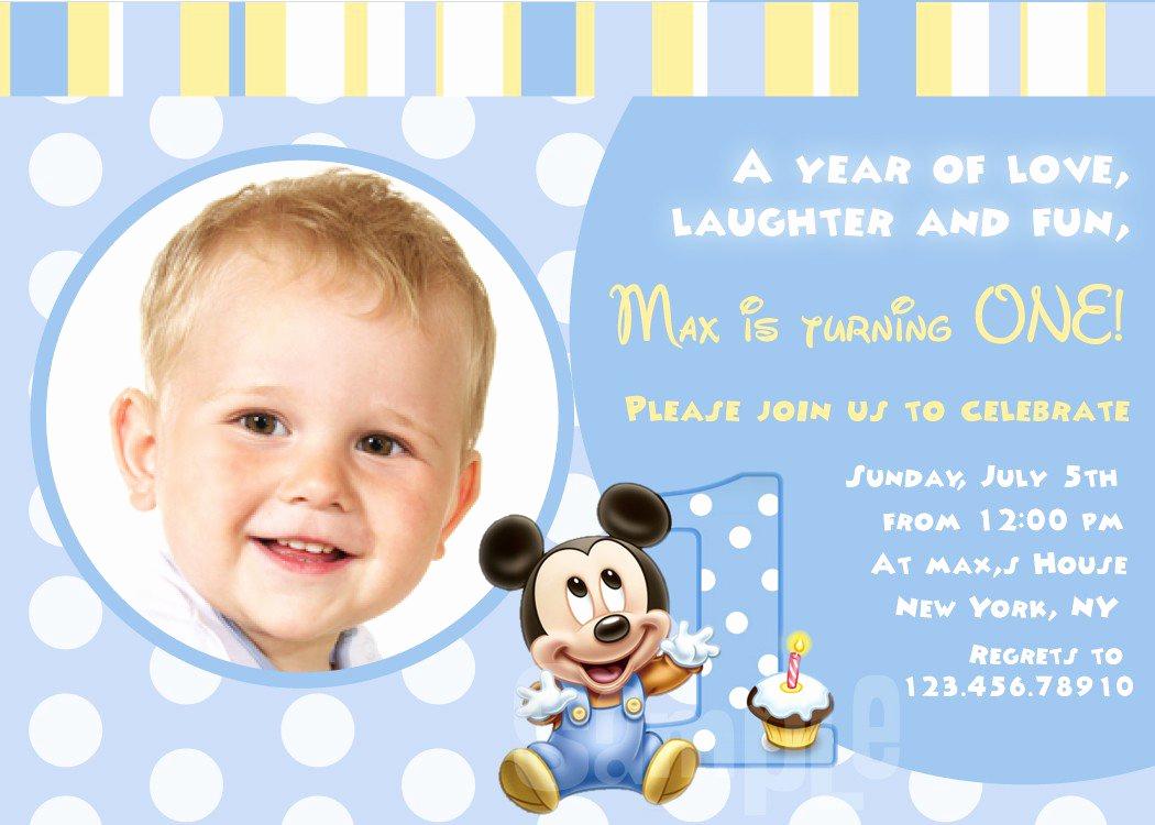 Baby 1st Birthday Invitation Luxury Babys First Birthday Invitations