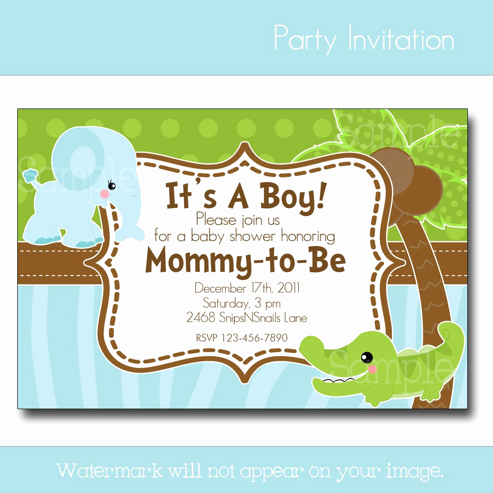 Baby Boy Invitation Ideas Best Of Invite the Guests with Baby Shower Invites