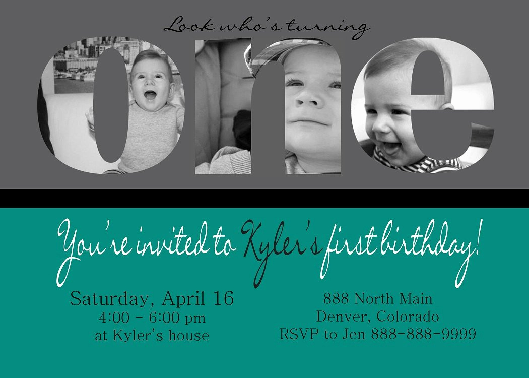Baby Boy Invitation Ideas Lovely Baby Boy Birthday Invitations