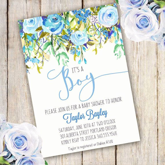 Baby Boy Invitation Ideas Luxury 25 Best Ideas About Baby Shower Templates On Pinterest