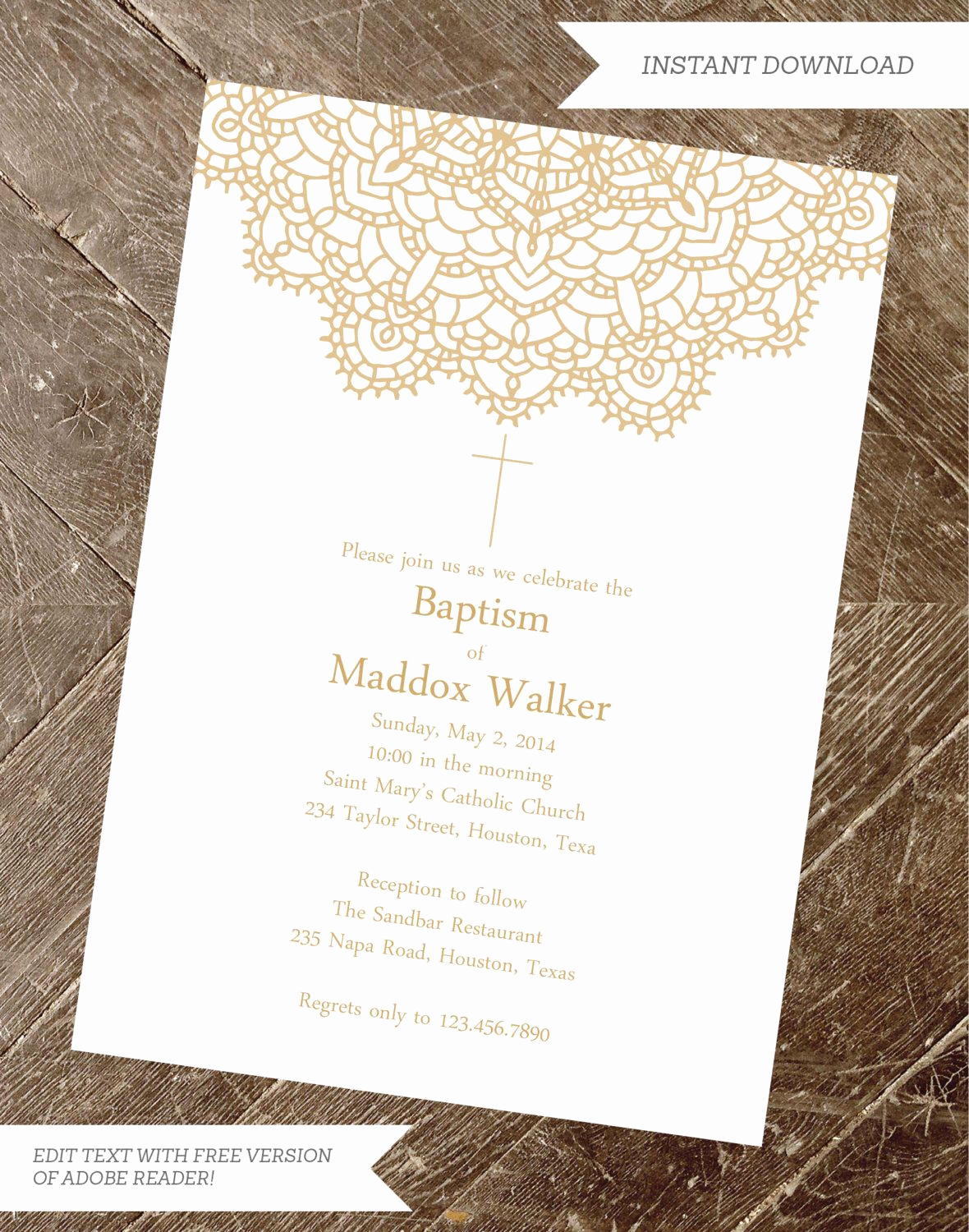 Baby Boy Invitation Ideas Luxury Baptism Invitation Christening Invite Girl Baptism Boy