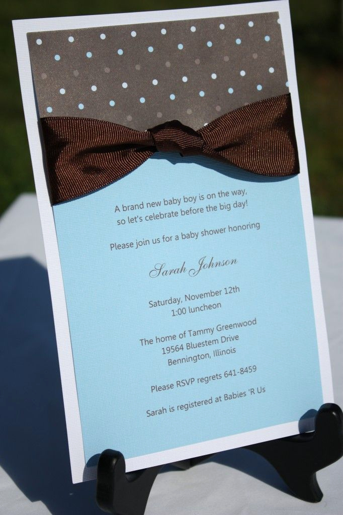 Baby Boy Shower Invitation Ideas Awesome 160 Best Images About Homemade Baby Shower Invitation On