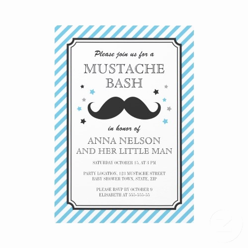 Baby Boy Shower Invitation Ideas Elegant Clever Baby Shower Concept for A Boy Bet Mustaches Would