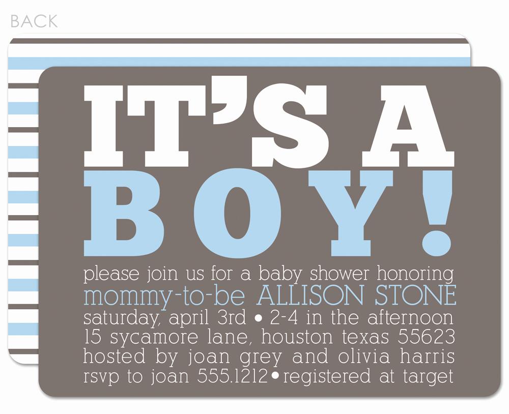 Baby Boy Shower Invitation Ideas Lovely Baby Boy Baby Shower Invitations
