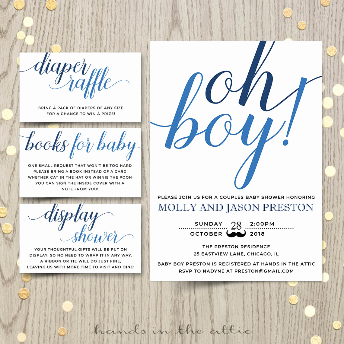 Baby Boy Shower Invitation Wording Inspirational Oh Boy Baby Shower Invitation