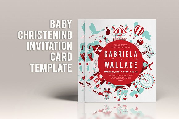 Baby Dedication Invitation Template Best Of Baby Christening Invitation Template Invitation