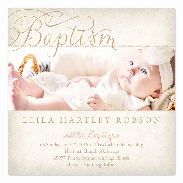 Baby Dedication Invitation Template Fresh Graceful Baptism