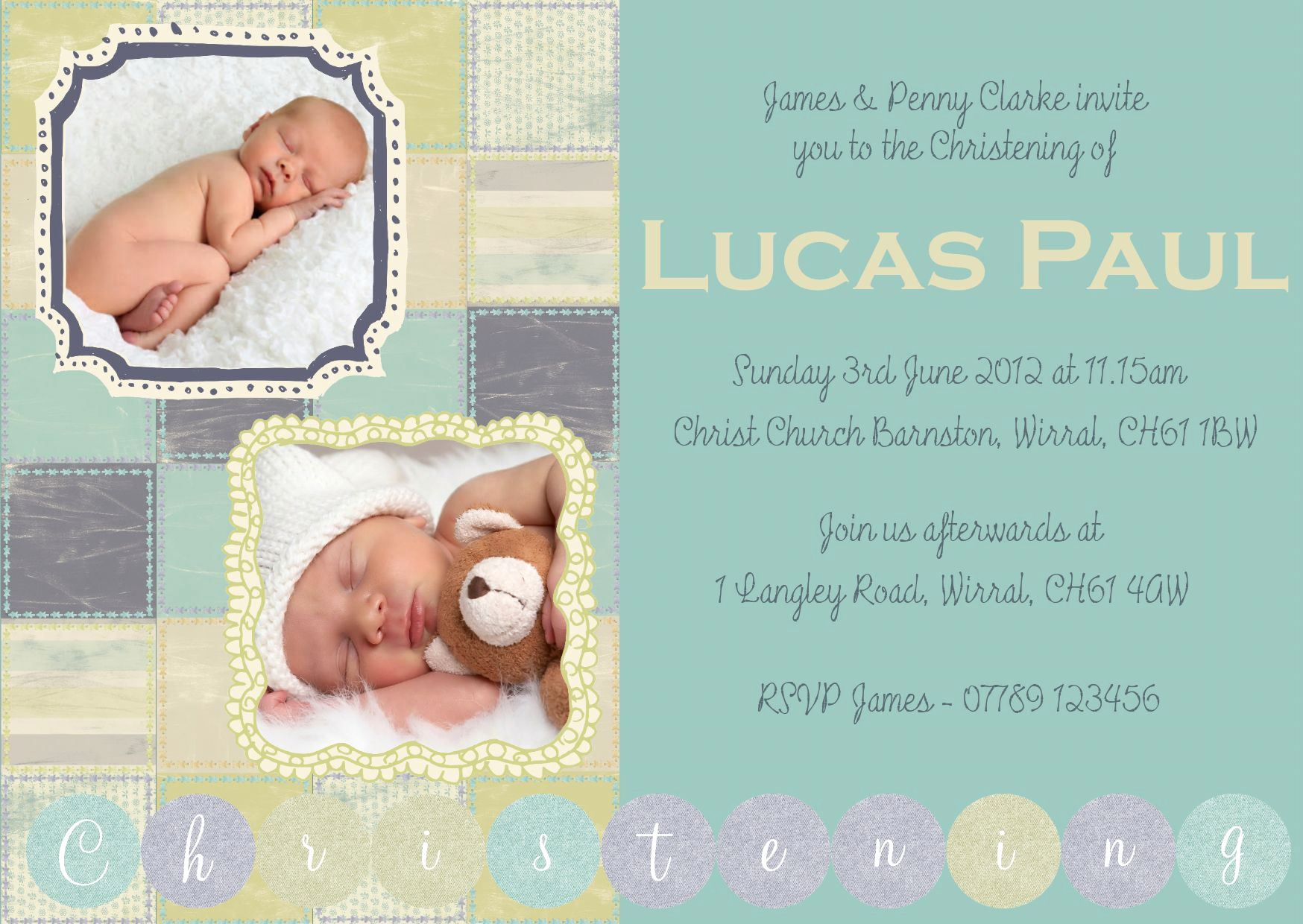 Baby Dedication Invitation Template Lovely Infant Baptism Invitations