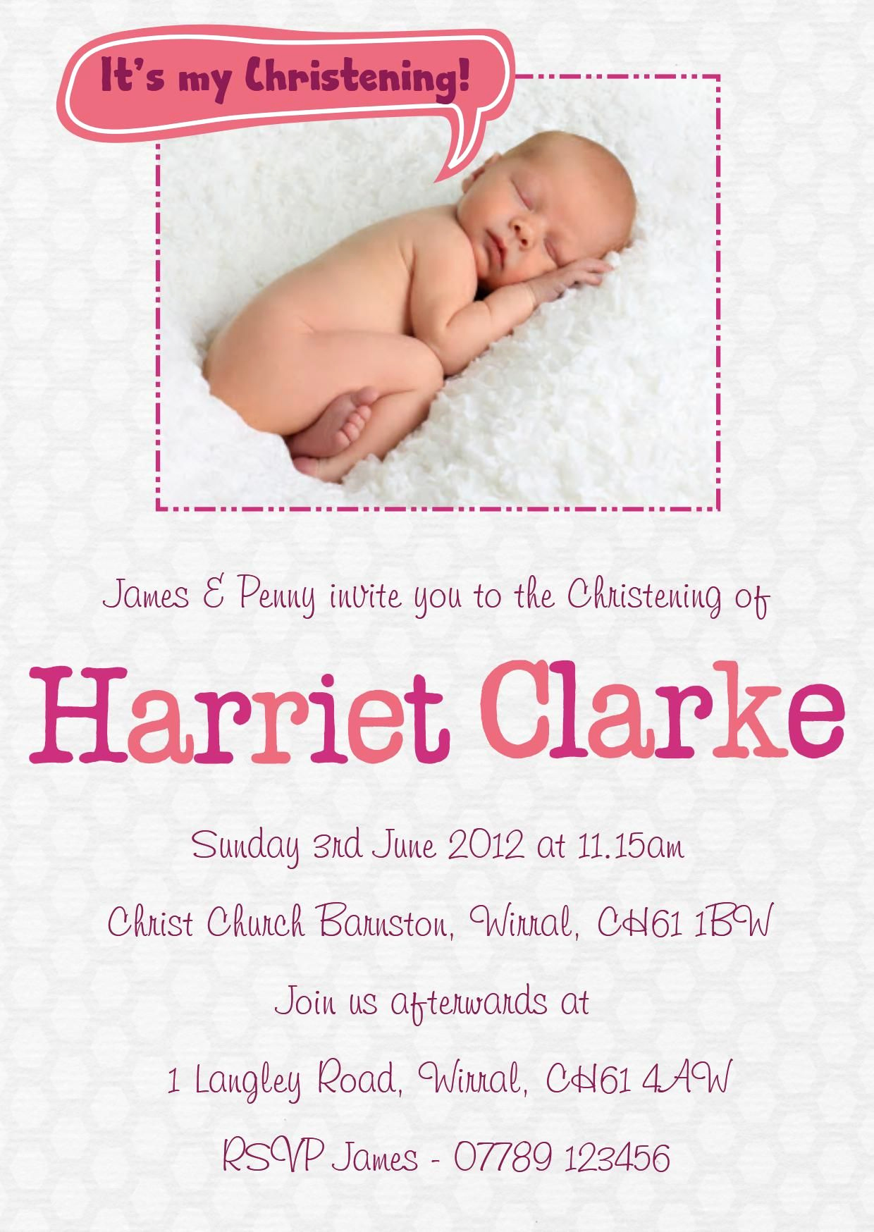Baby Dedication Invitation Wording Beautiful Baby Girl Baptism Invitation Wording
