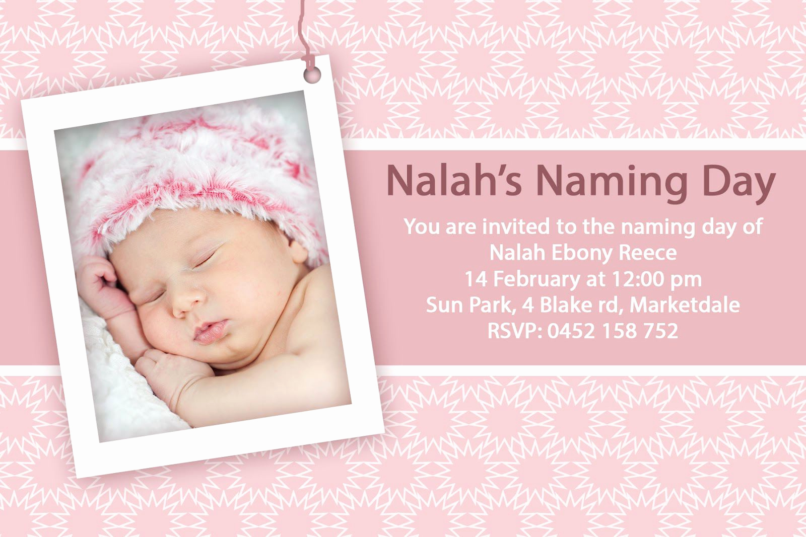 Baby Dedication Invitation Wording Unique Baptism Invitations for Girl Christening Invitation