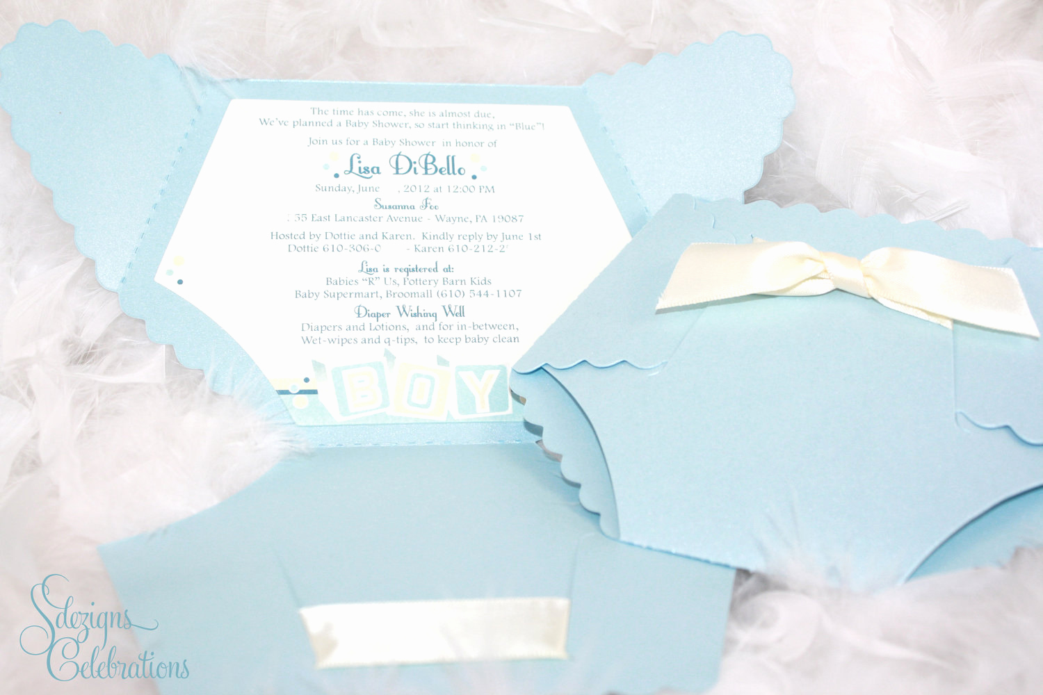 Baby Diaper Invitation Template Best Of Diaper Baby Shower Invitation Baby Block Design by Sdezigns