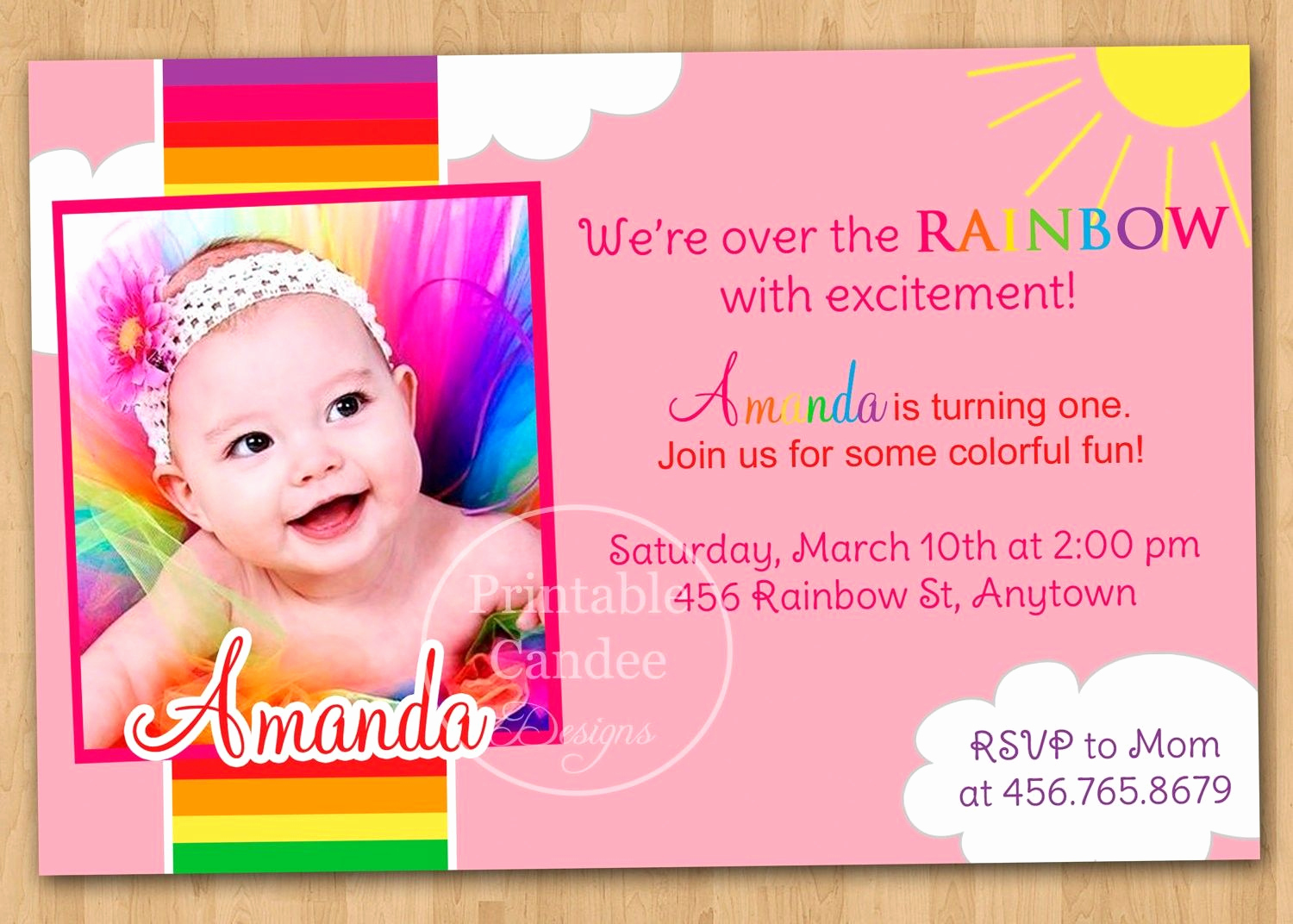 Baby Girl First Birthday Invitation Best Of 1st Birthday Invitation Wording Baby Girl