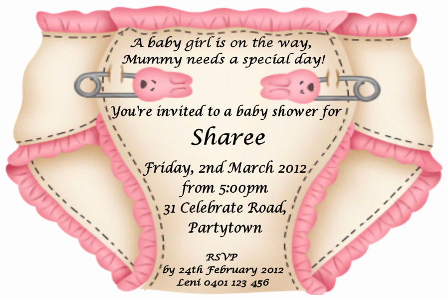Baby Girl Shower Invitation Ideas Awesome Baby Shower Invitation Wording Ideas