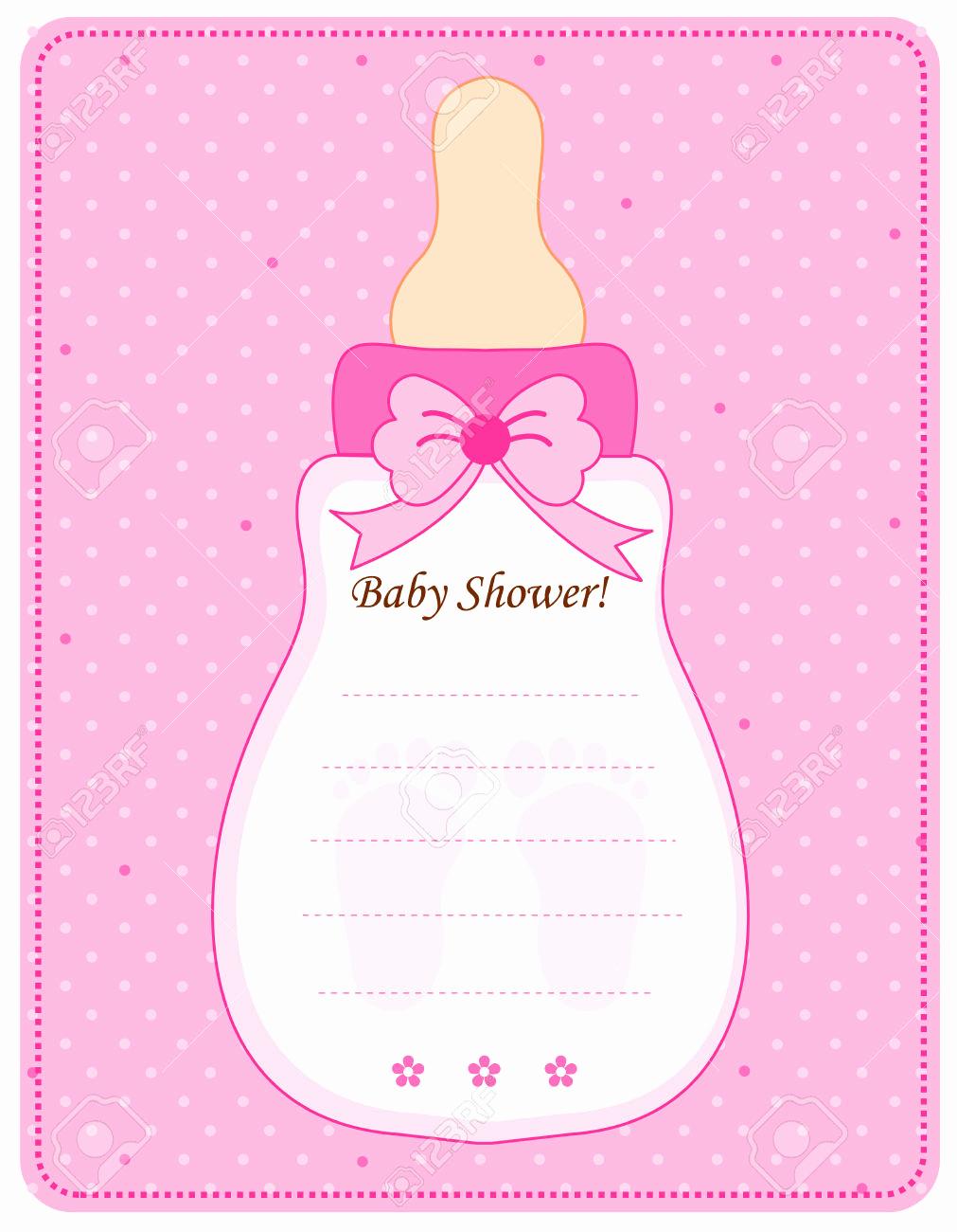 Baby Girl Shower Invitation Ideas Beautiful Baby Shower for Girl