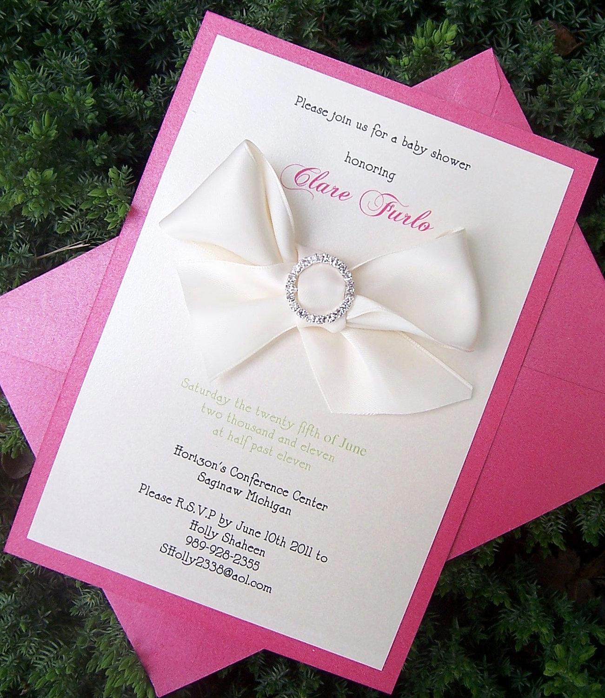 Baby Girl Shower Invitation Ideas Best Of 10 Elegant Birthday Invitations Ideas – Wording Samples
