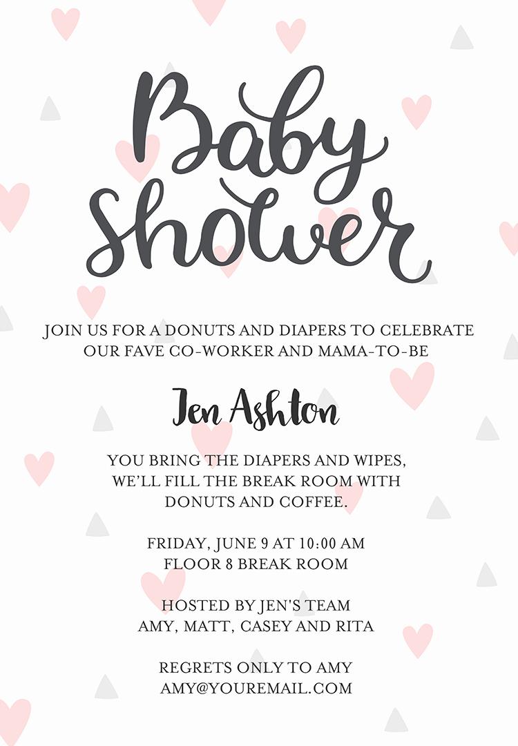 Baby Girl Shower Invitation Ideas Best Of 22 Baby Shower Invitation Wording Ideas