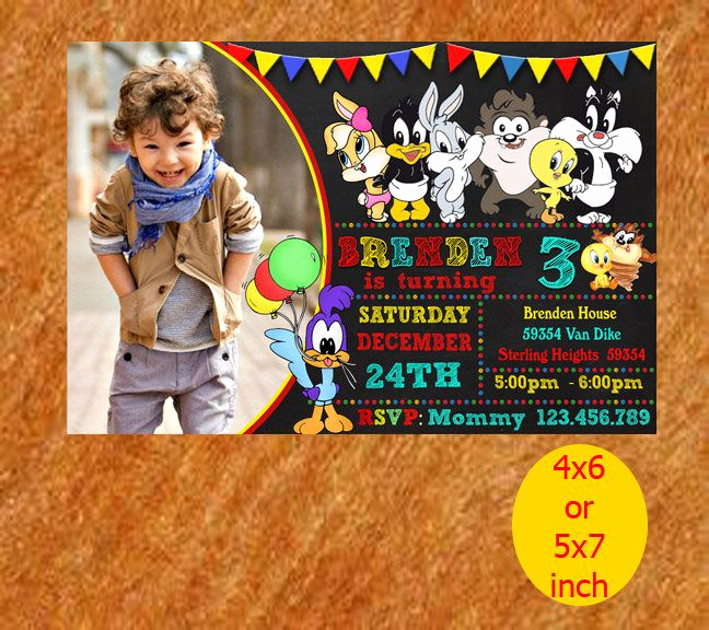 Baby Looney Tunes Invitation Inspirational Baby Looney Tunes Printable Baby Looney Tunes Invitation