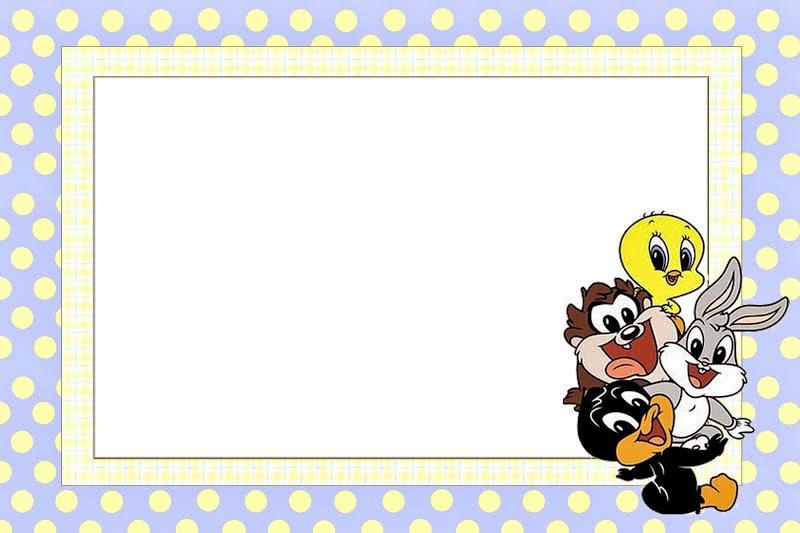 Baby Looney Tunes Invitation Lovely Looney Tunes Babies Free Printable Invitations