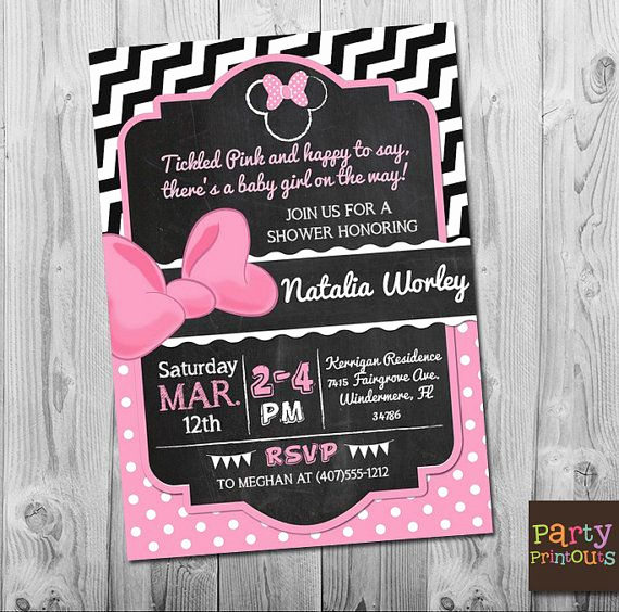 Baby Minnie Mouse Invitation Best Of Best 25 Minnie Mouse Baby Shower Ideas On Pinterest