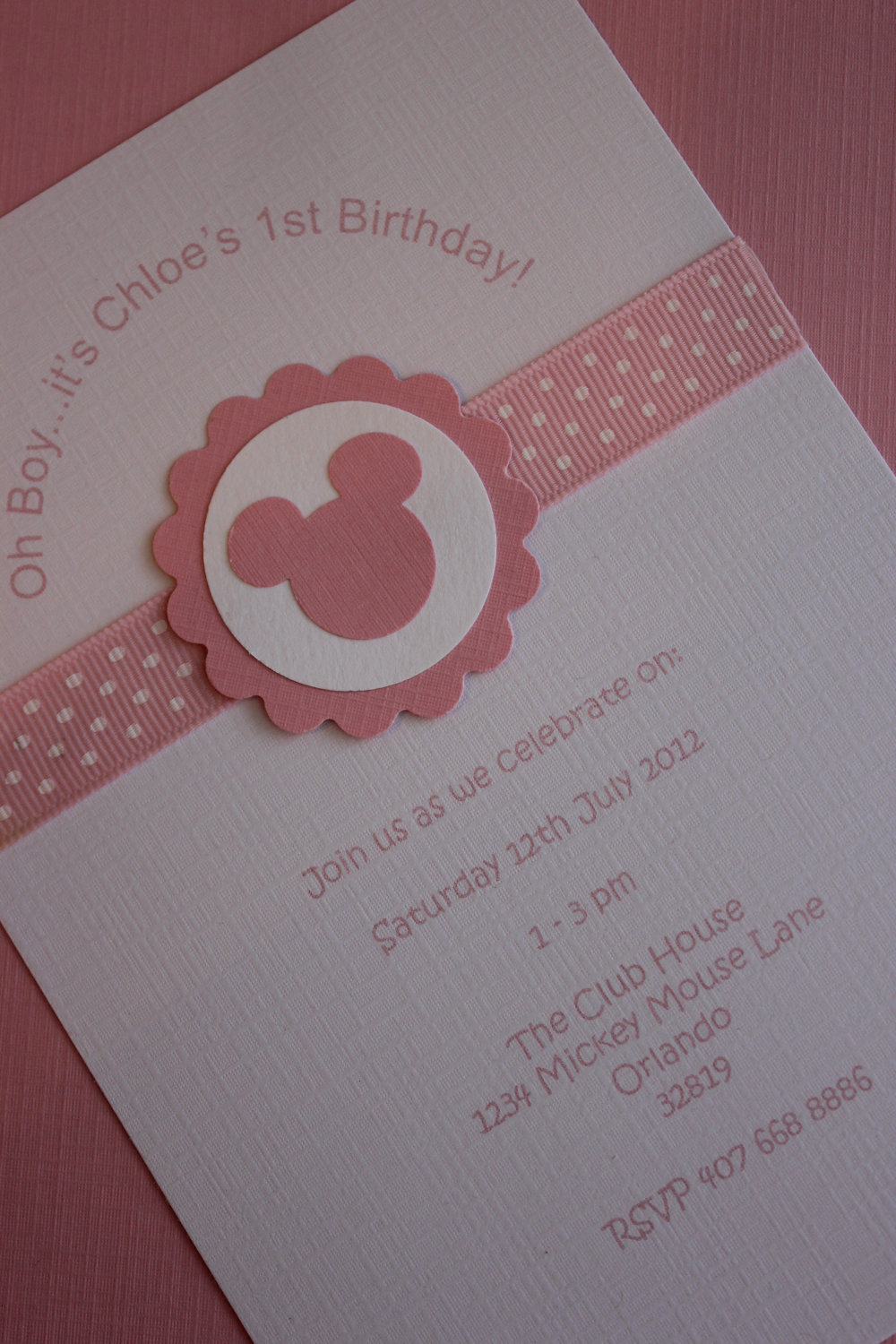 Baby Minnie Mouse Invitation Lovely 12x Minnie Mouse Invitations with Envelope Birthday