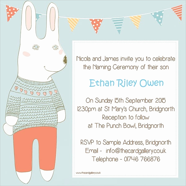 Baby Naming Ceremony Invitation Awesome 15 Naming Ceremony Invitations Psd Vector Eps