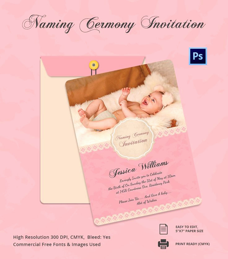 Baby Naming Ceremony Invitation Beautiful Best 25 Naming Ceremony Invitation Ideas On Pinterest