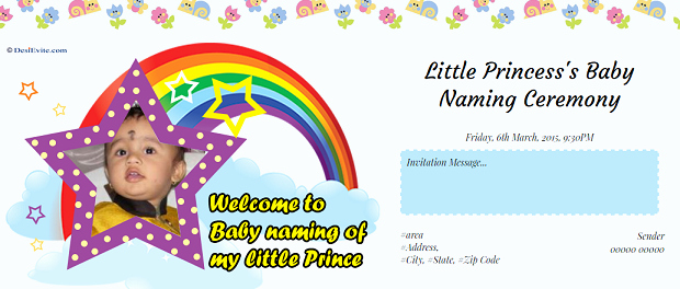 Baby Naming Ceremony Invitation Luxury Free Baby Girl Naming Ceremony Invitation Card & Line