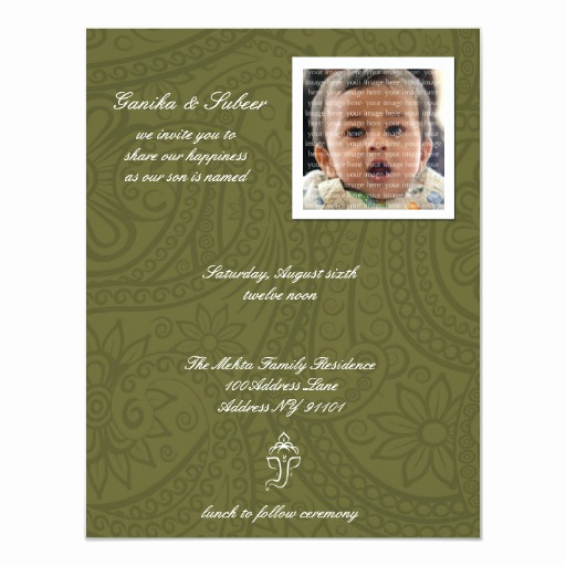 Baby Naming Invitation Wording Awesome Namkaran Baby Naming Invitations