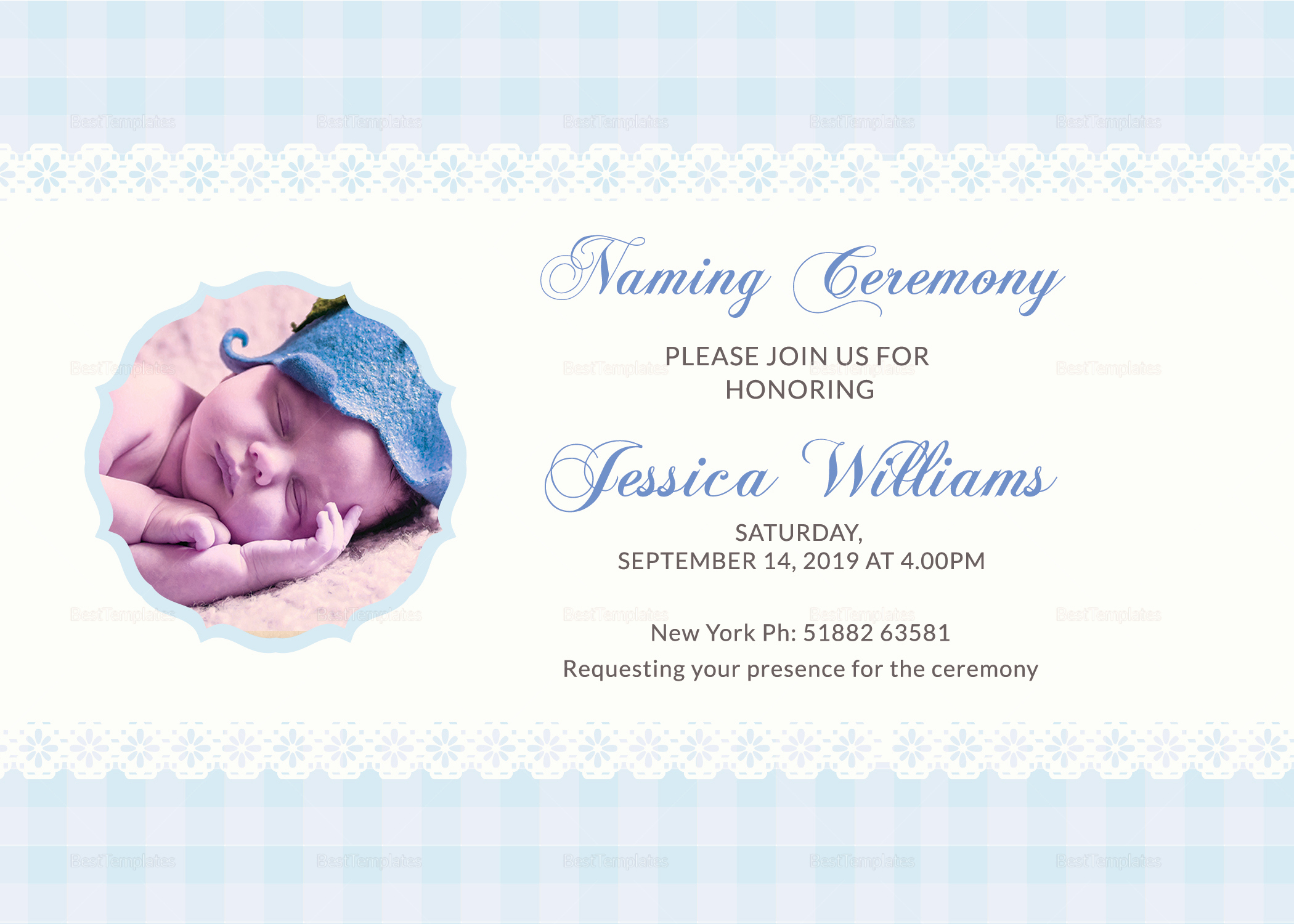 Baby Naming Invitation Wording Awesome Wonderful Baby Naming Ceremony Invitation Card Design