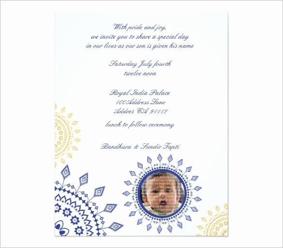 Baby Naming Invitation Wording Best Of Naming Ceremony Invitation Wording Cobypic