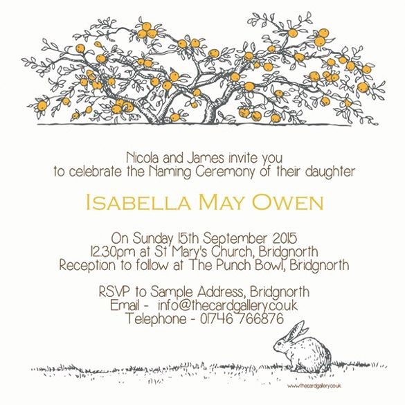 Baby Naming Invitation Wording Elegant 7 Best Invitations Baby Naming Ceremony Images On Pinterest