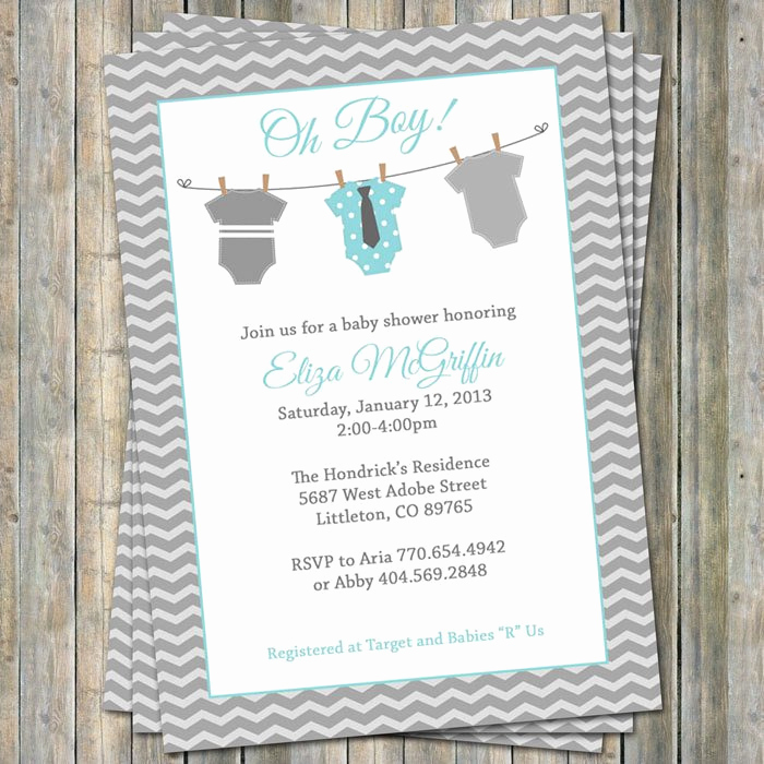 Baby Onesie Invitation Template Luxury Baby Esie Invitation Templates