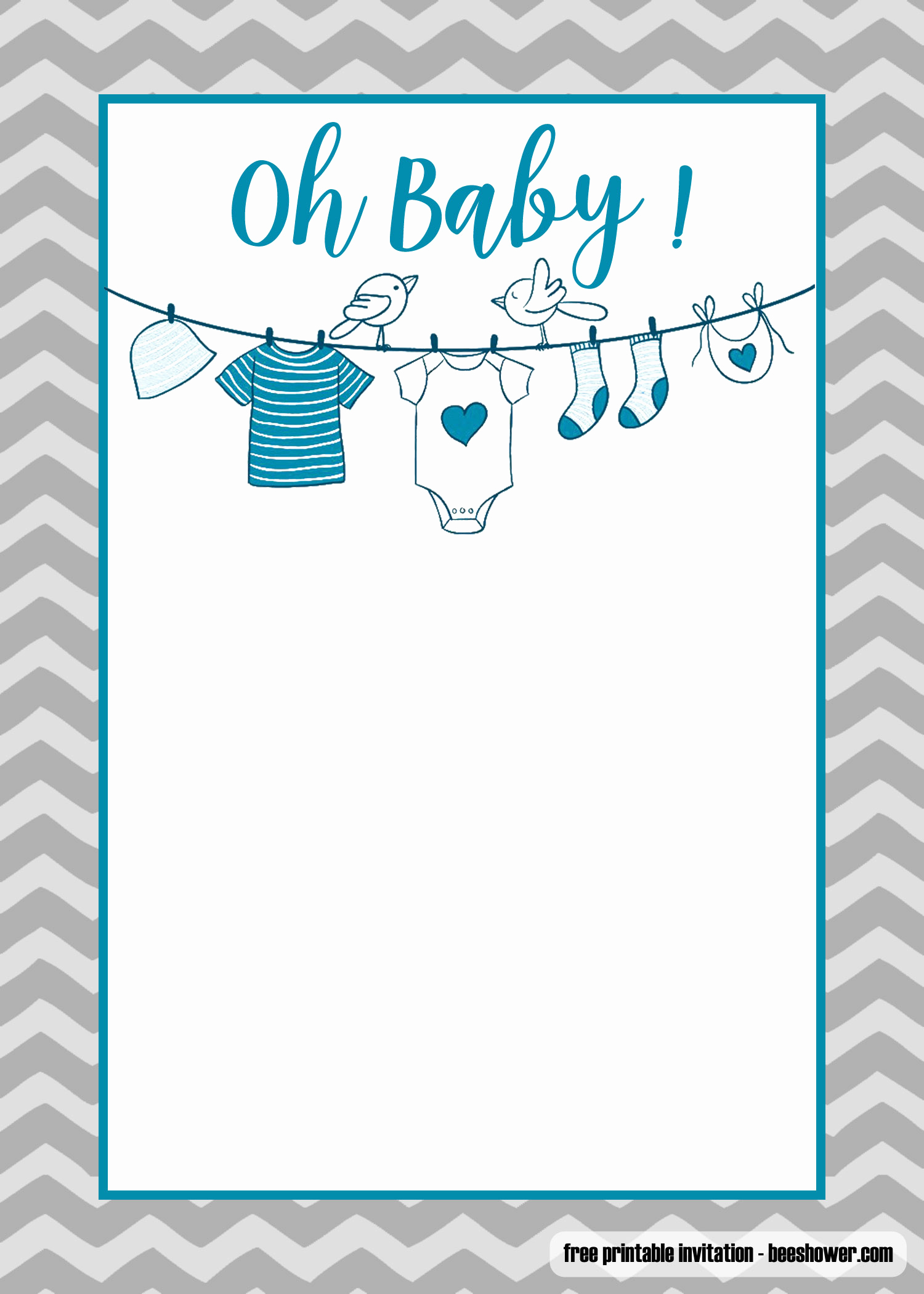 Baby Onesie Invitation Template Luxury Free Printable Esie Baby Shower Invitations Templates