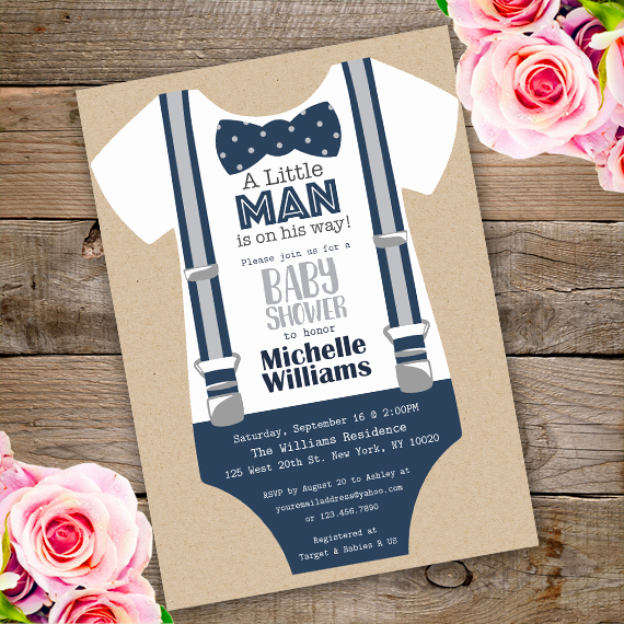 Baby Onesie Invitation Template Unique Esie Shower Invitation Templateparty Printables