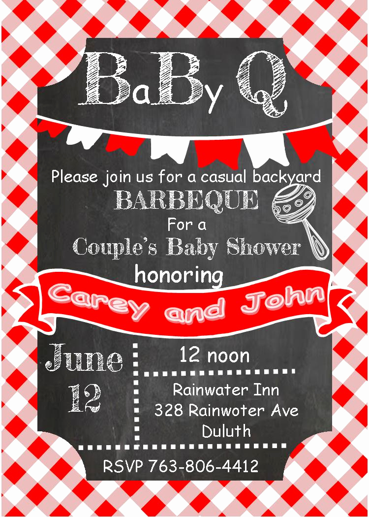 Baby Q Invitation Template Fresh Babyq Baby Shower Invitations Summer 2018