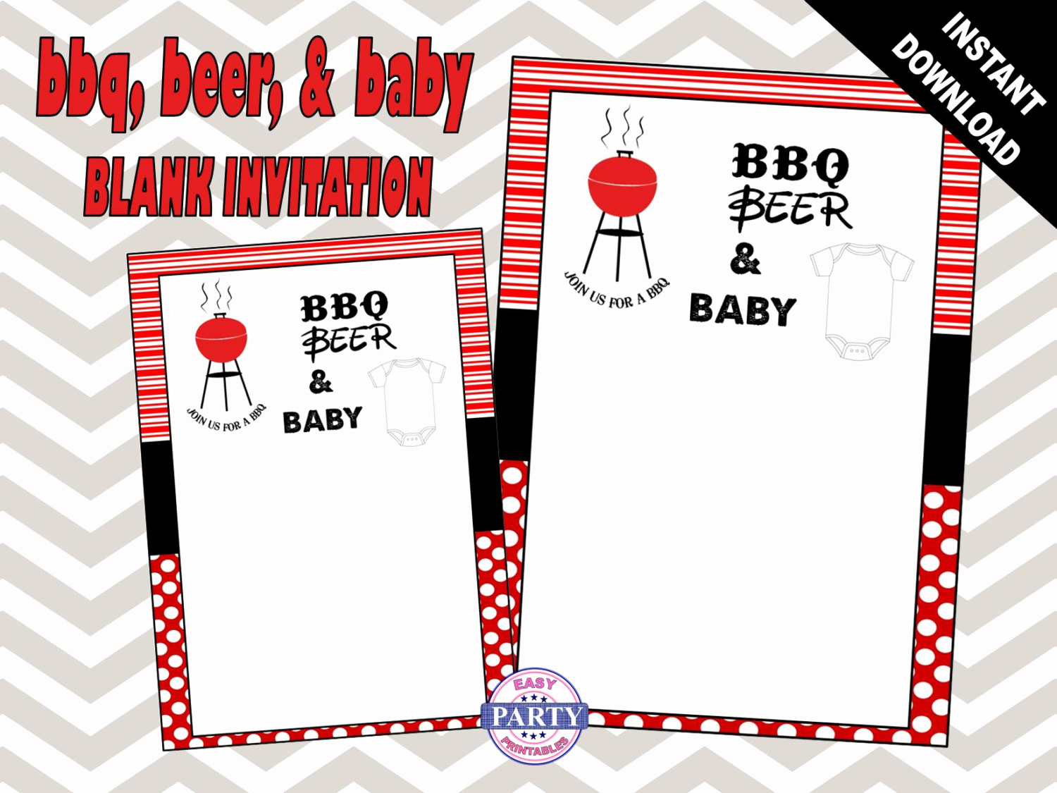 Baby Q Invitation Template Fresh Bbq and Beer Blank Invitation Template Bbq by