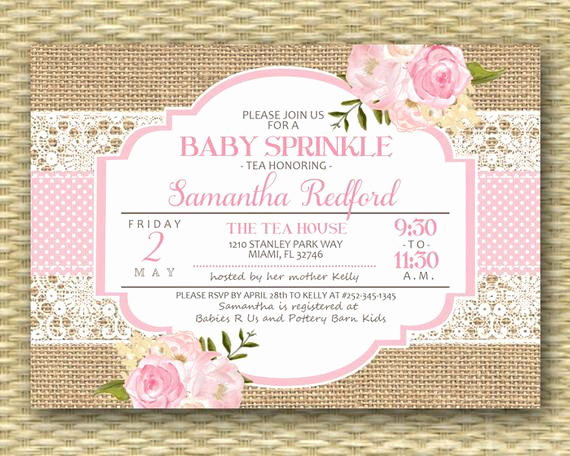 baby sprinkle invitation baby shower